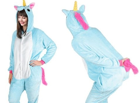 Domáce oblečenie (pyžamo) Jednorožec - veľkosť M