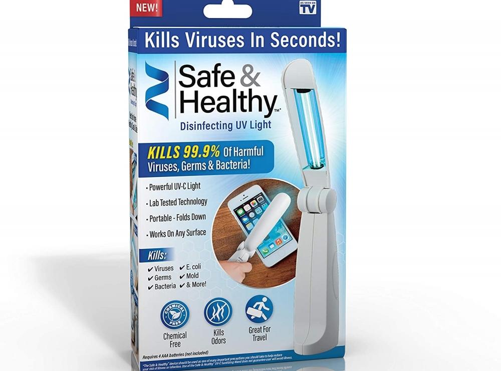 Skladacia dezinfekčná UV-C lampa - zabíja 99,9% baktérií!