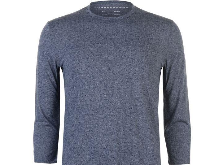 Under Armour tričko s 3/4 rukávom - modro-biele