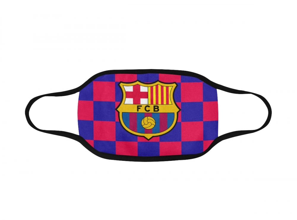 Dvojvrstvové rúško (FC Barcelona, Slovensko)