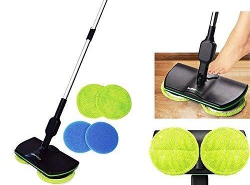 Nabíjateľný bezšnúrový podlahový čistič-mop