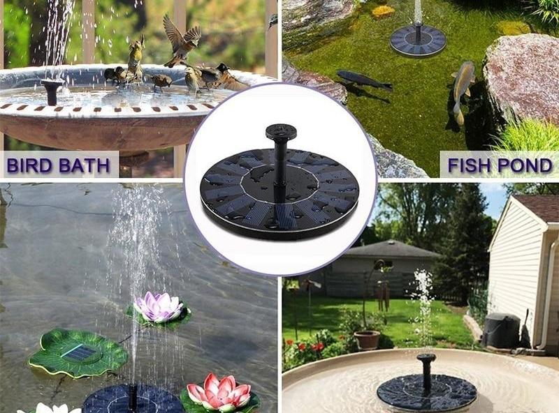 LMV - Solárna fontána