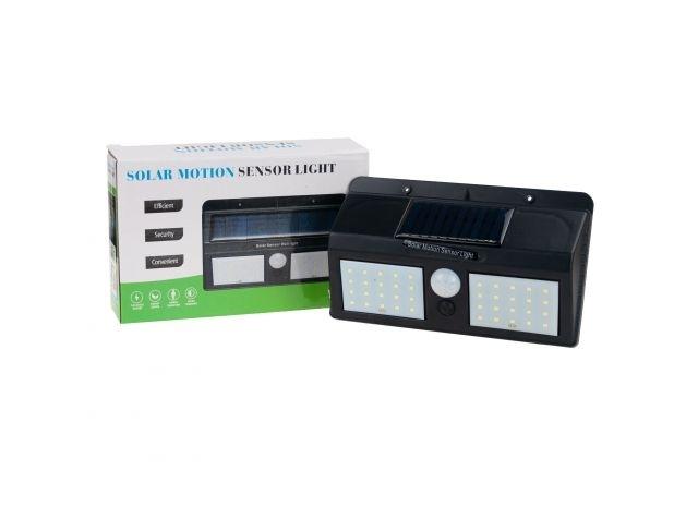 Dvojitá solárna lampa so senzorom pohybu 40 LED