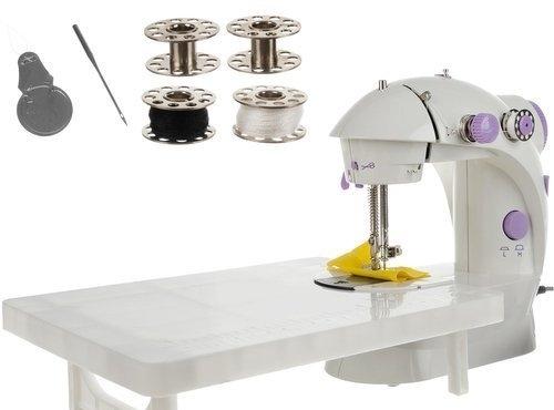 Mini šijací stroj + stolík