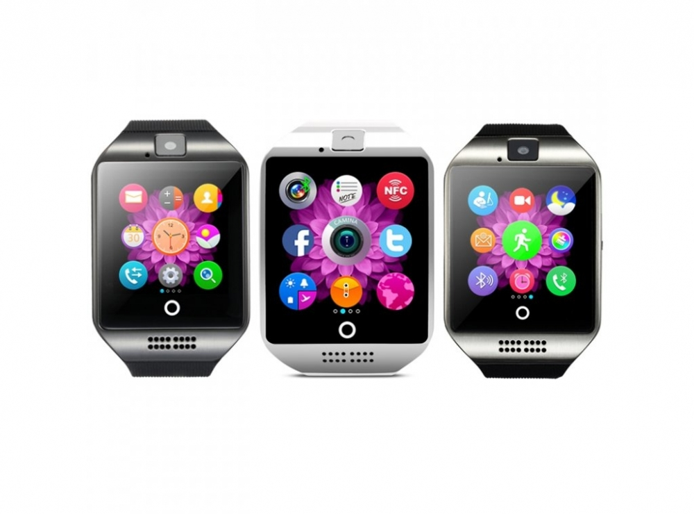 Smart hodinky so zaobleným displejom, SIM kartou a množstvom ďalších funkcií...