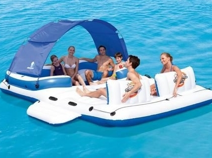 XXXL Plávajúci ostrov