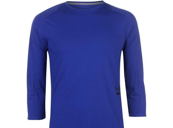 Under Armour tričko s 3/4 rukávom - modré