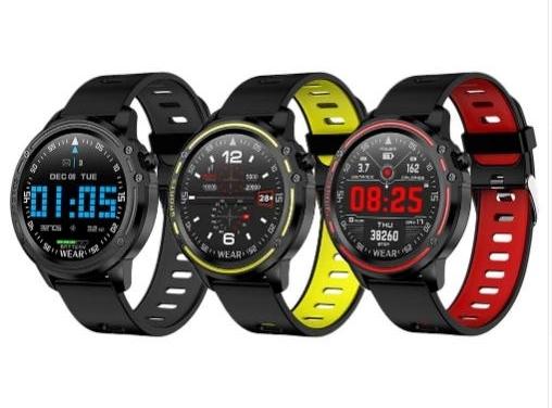 Špičkové smart hodinky - meranie tlaku, srdcovej frekvencie, hladiny kyslíka v krvi...