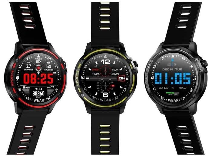 Špičkové smart hodinky M9 - meranie tlaku, srdcovej frekvencie, hladiny kyslíka v krvi...