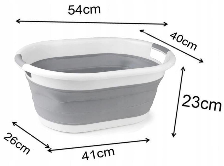 Skladacia vaňa (resp. kôš na prádlo)