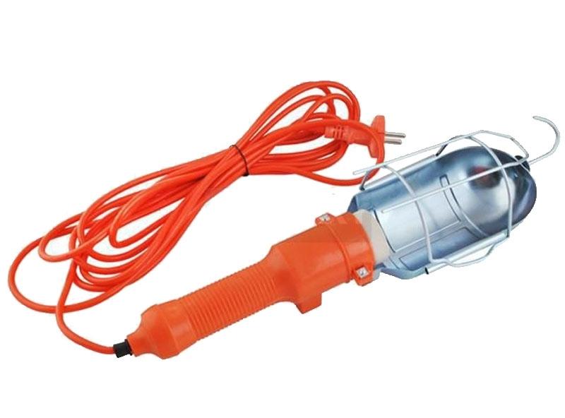 Pracovná lampa s ochranným krytom 220/230V, 60W, E27