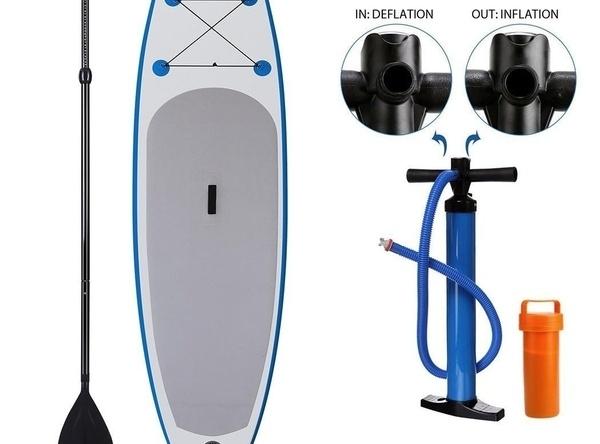 Paddleboard s výbavou
