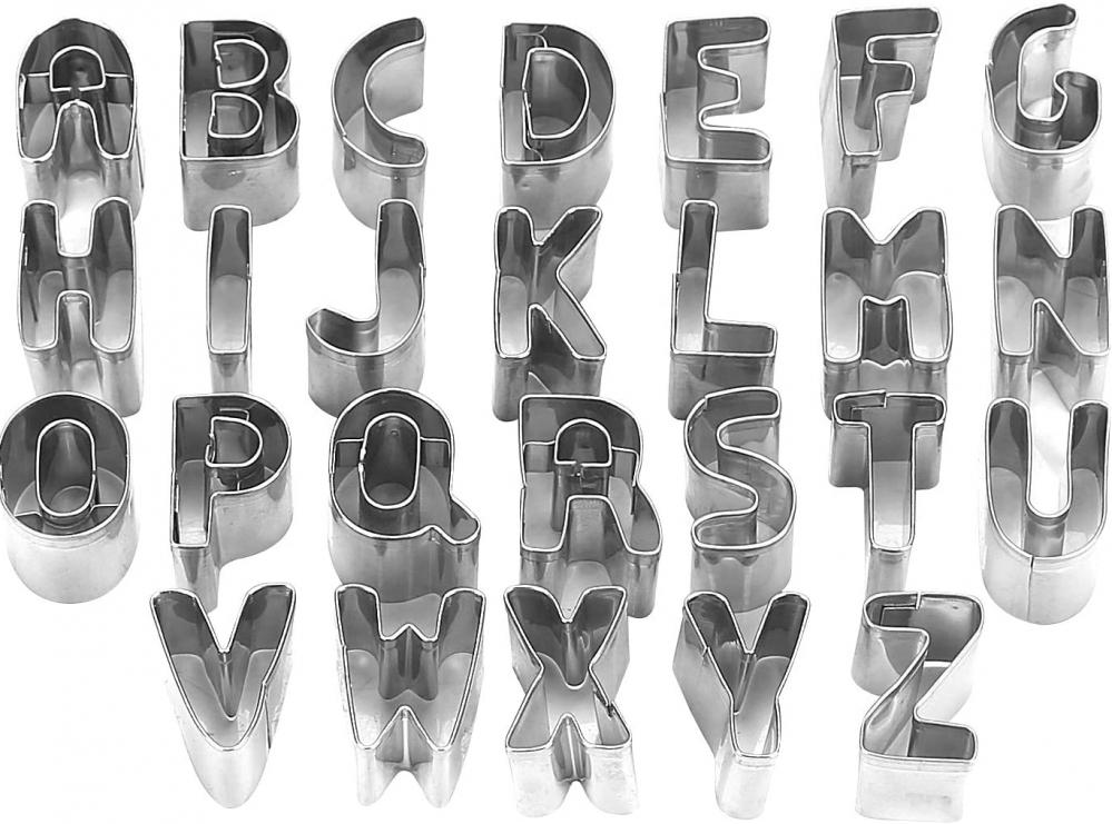 Vykrajovačky - abeceda - 26ks
