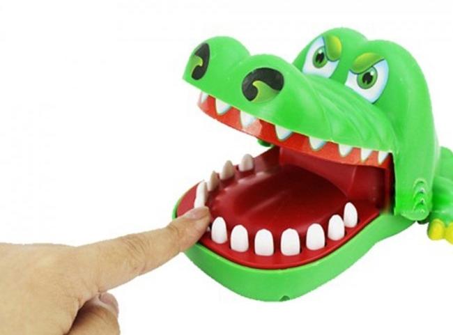 Krokodíl - zručnostná hra