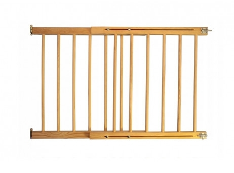 Drevená bezpečnostná zábrana 72-122 x 70 cm