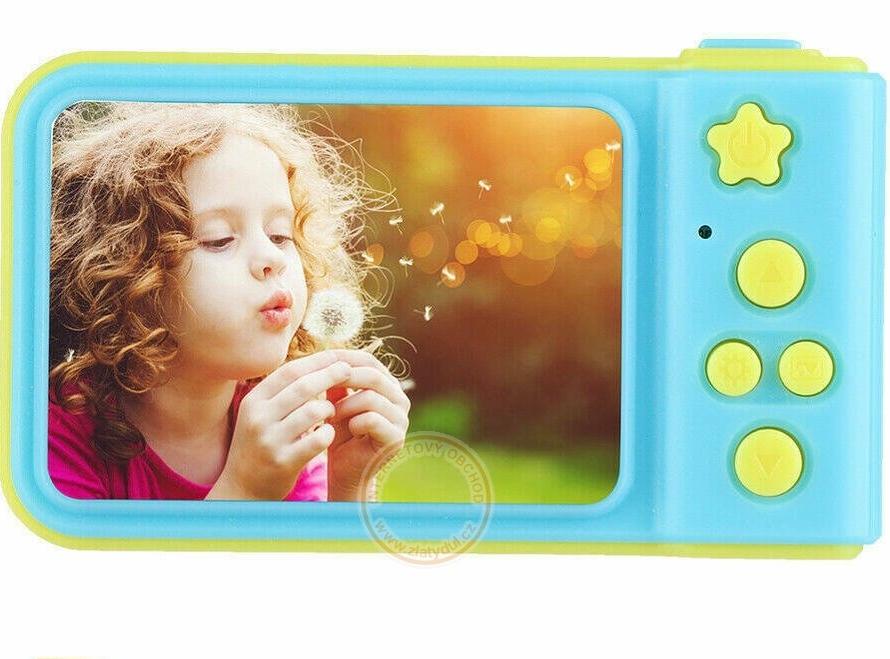 Detský fotoaparát 3MPx na SD kartu (2 farby)