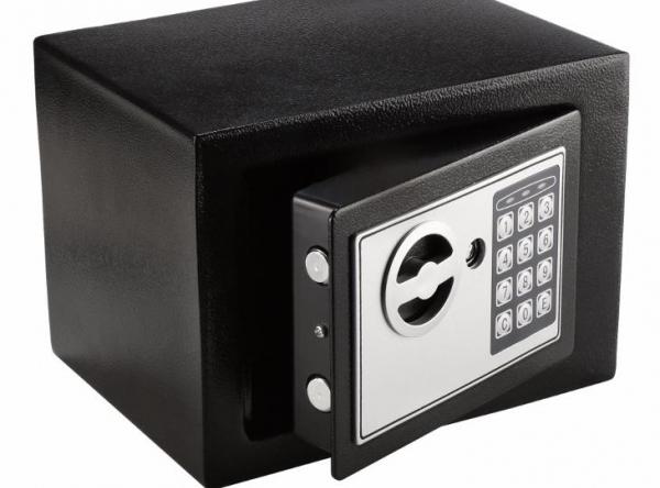 Elektronický trezor, sejf, bezpečnostná schránka