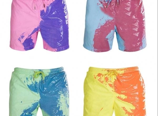 Svetová novinka - Šortky meniace farbu