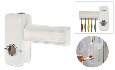Dávkovač zubnej pasty+stojan na kefky