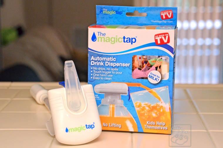 Magic tap - automatický dávkovač nápojov