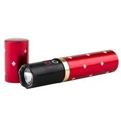 Paralyzér v tvare rúžu s LED svetlom